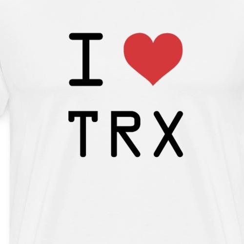 I HEART TRX (Tron) - Men's Premium T-Shirt