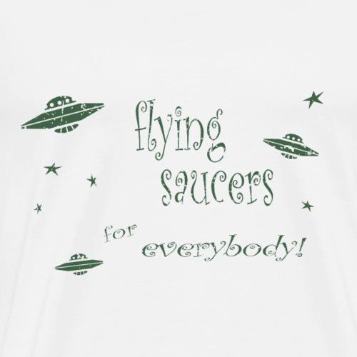 CE3_-_Flying_Saucers - Men's Premium T-Shirt