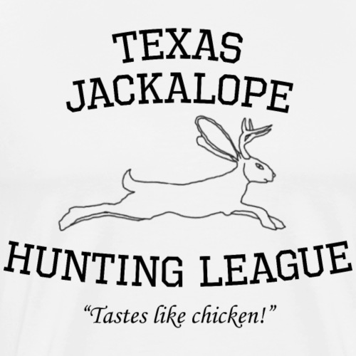Texas Jackalope Hunting League - Men's Premium T-Shirt