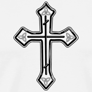 christian_cross_17 - Men's Premium T-Shirt