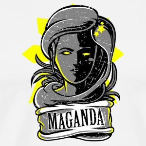 Si Maganda. Symbol of Filipina Women Beauty. - Men's Premium T-Shirt
