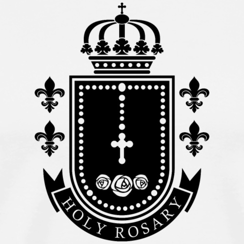 holy rosary - Men's Premium T-Shirt