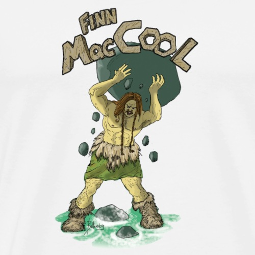 Rage of Finn McCool - Men's Premium T-Shirt