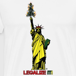 Cannabis of Liberty - Cannabis T-shirts, 420 wear - Men's Premium T-Shirt