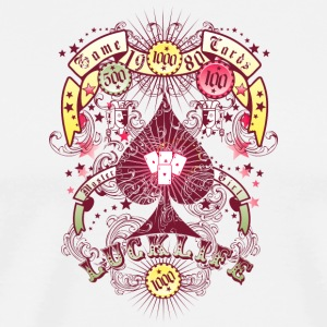 lucklife gambling - Men's Premium T-Shirt