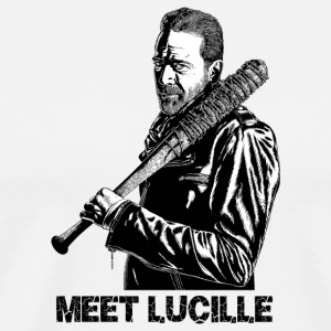 Negan-Lucille - Men's Premium T-Shirt