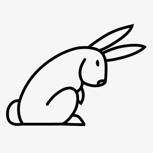 Black Rabbit - Men's Premium T-Shirt