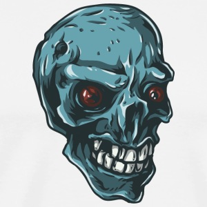 blue_skull - Men's Premium T-Shirt