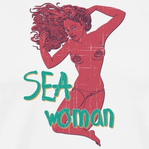 SEA_woman_vintage - Men's Premium T-Shirt