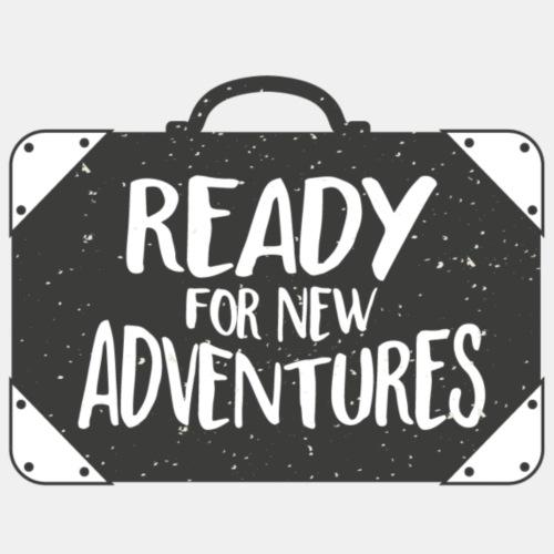 Ready for New Adventures - Men's Premium T-Shirt