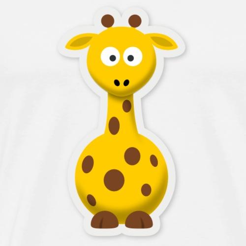 Baby Girafe Design - Men's Premium T-Shirt