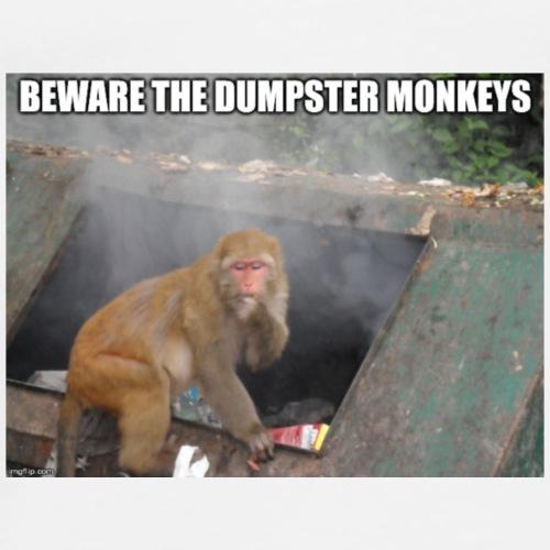 Dumpster Monkeys - Men's Premium T-Shirt