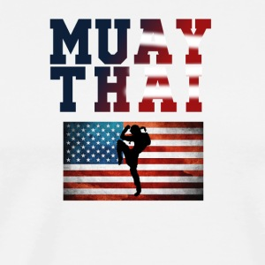 Muay_Thai_USA_3 - Men's Premium T-Shirt