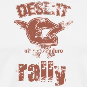 DESERT RALLY motocycle - Men's Premium T-Shirt