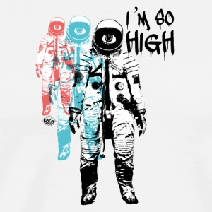 Cannabis so high - Men's Premium T-Shirt