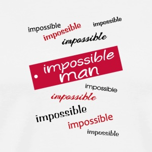 impossible man - Men's Premium T-Shirt