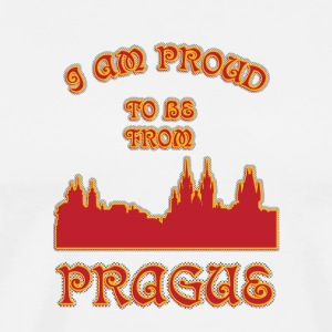 Prague I am proud to be from - Men's Premium T-Shirt