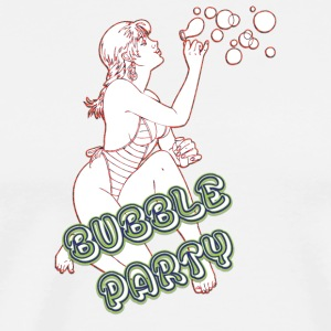 BUBBLE_PARTY_WITH_SEXY_GIRL - Men's Premium T-Shirt