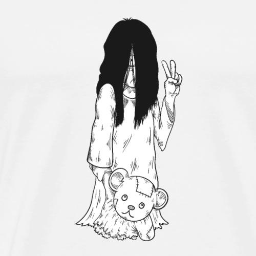 Cute Ghost Girl - Men's Premium T-Shirt