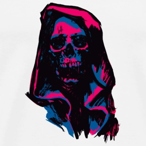 Death Pink & Blue - Men's Premium T-Shirt