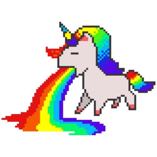 Rainbow Unicorn - Men's Premium T-Shirt