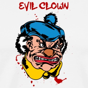 EVIL_CLOWN_22_bllody - Men's Premium T-Shirt