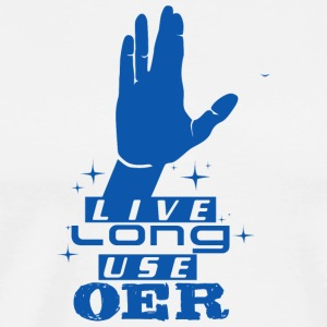 Live Long Use OER (Blue) - Men's Premium T-Shirt