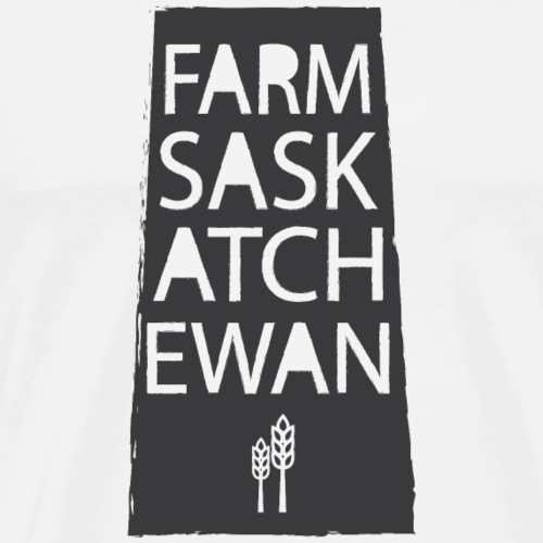 Farm Sask - Men's Premium T-Shirt