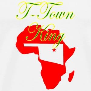 T Town King - Men's Premium T-Shirt