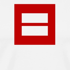 Equality For All Sign Marriage Equality - Men's Premium T-Shirt