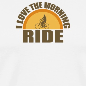 Morning Ride - Men's Premium T-Shirt