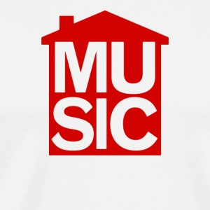 House Music Symbol - Men's Premium T-Shirt
