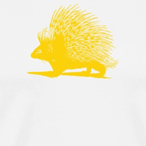 Hedgehog Indian Crested Porcupine - Men's Premium T-Shirt
