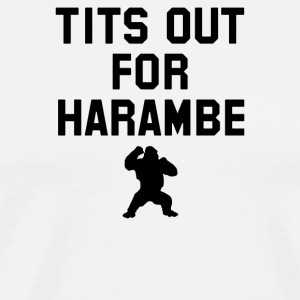 Tits Out For Harambe - Men's Premium T-Shirt