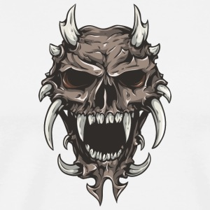 monster_skull - Men's Premium T-Shirt