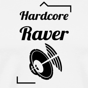 Hardcore Raver - Men's Premium T-Shirt