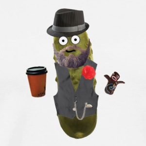 Coffee Pickle Hipster - Men's Premium T-Shirt