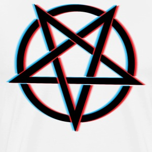 3D Pentagram - Men's Premium T-Shirt