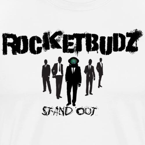 RocketBudz Stand Out - Men's Premium T-Shirt