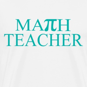 Math Teacher Pi - Men's Premium T-Shirt