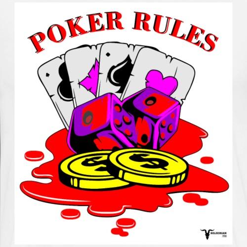 Poker Rules - Men's Premium T-Shirt