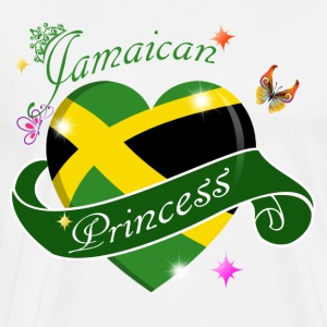 Jamaican Princess designs - Men's Premium T-Shirt