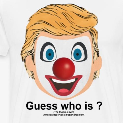 cloud trump - Men's Premium T-Shirt