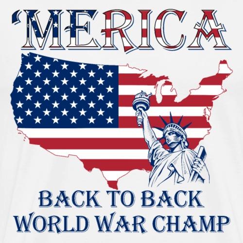 Patriotic - Independence Day - Men's Premium T-Shirt