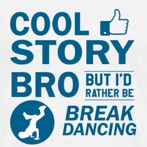 Cool break dancing designs - Men's Premium T-Shirt