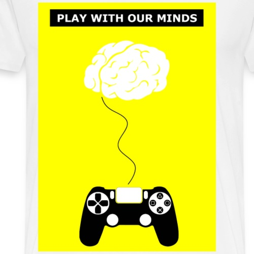 Play with our minds - Men's Premium T-Shirt