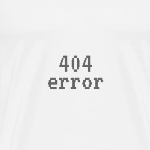 404_error - Men's Premium T-Shirt