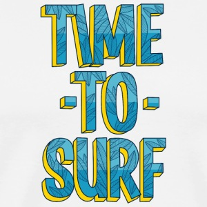 Time to surf - Men's Premium T-Shirt
