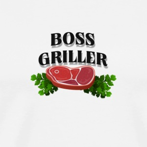 Boss Griller - Men's Premium T-Shirt
