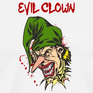 EVIL_CLOWN_24_bloody - Men's Premium T-Shirt